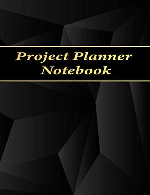 Project Planner Notebook: Ruled Business Meeting Book For Secretary And Professional Meeting, Record Organize Notes, Ideas, Follow Up,Project Management- 120 Pages (Ruled Format) 8.5 X 11