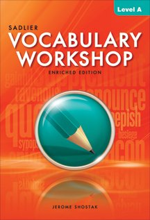 Vocabulary Workshop Level A (Grade 6) Paperback  2013