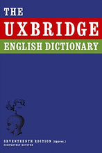 Load image into Gallery viewer, The Uxbridge English Dictionary. Tim Brooke-Taylor ... [Et Al.] (I'M Sorry I Haven'T A Clue)