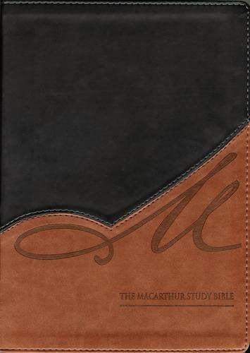 Nkjv, The Macarthur Study Bible, Leathersoft, Black/Brown: Revised And Updated