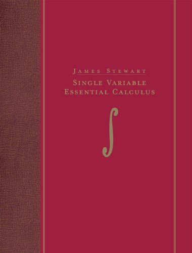 Single Variable Essential Calculus