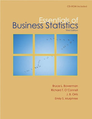 Essentials Of Business Statistics With Student Cd
