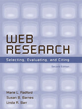 Load image into Gallery viewer, Web Research: Selecting, Evaluating, And Citing (2Nd Edition)