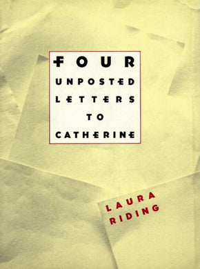 Four Unposted Letters To Catherine
