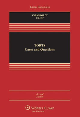 Torts: Cases And Questions, Second Edition (Aspen Casebook)