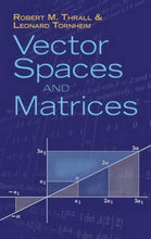 Load image into Gallery viewer, Vector Spaces And Matrices (Dover Books On Mathematics)