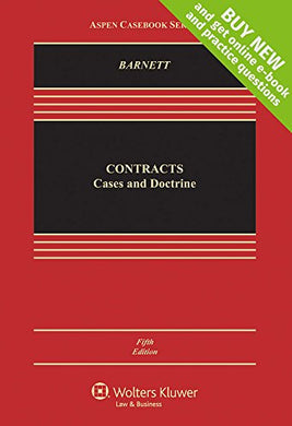 Contracts: Cases And Doctrines (Aspen Casebook Series), 5Th Edition