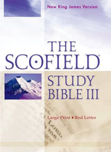 Load image into Gallery viewer, The Scofield Study Bible Iii, Nkjv, Large Print Edition