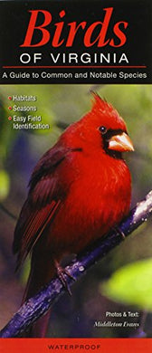 Birds Of Virginia: A Guide To Common & Notable Species (Quick Reference Guides)
