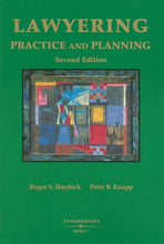 Load image into Gallery viewer, Lawyering: Practice And Planning (American Casebook Series)
