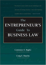 Load image into Gallery viewer, The Entrepreneurs Guide To Business Law