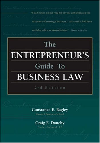 The Entrepreneurs Guide To Business Law