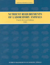 Load image into Gallery viewer, Nutrient Requirements Of Laboratory Animals,: Fourth Revised Edition, 1995 (Nutrient Requirements Of Domestic Animals)