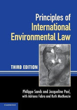 Load image into Gallery viewer, Principles Of International Environmental Law