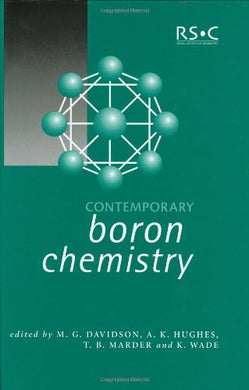 Contemporary Boron Chemistry (Special Publications)