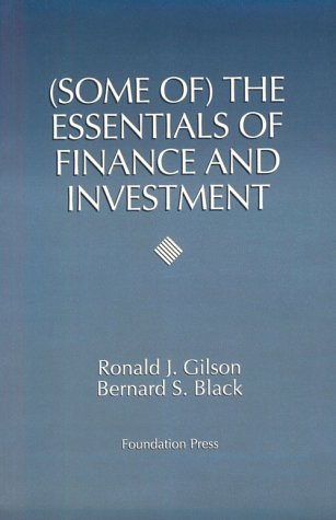 The Essentials Of Finance And Investment (Coursebook)