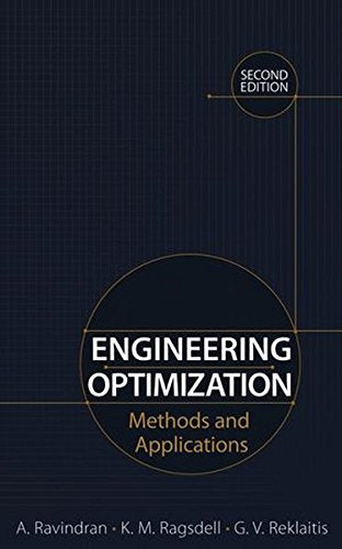 Engineering Optimization: Methods And Applications