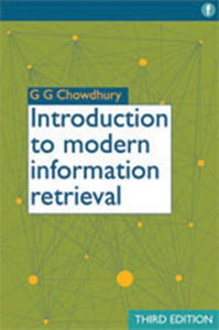 Introduction To Modern Information Retrieval, 3Rd Edition