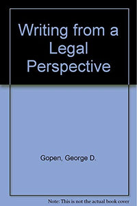 Writing From A Legal Perspective
