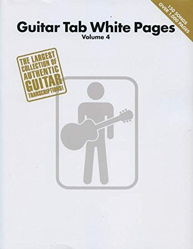 Guitar Tab White Pages - Volume 4