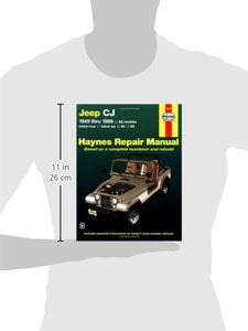 Jeep Cj '49'86 (Haynes Repair Manuals)