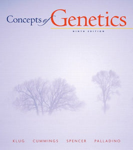 Concepts Of Genetics (9Th Edition)