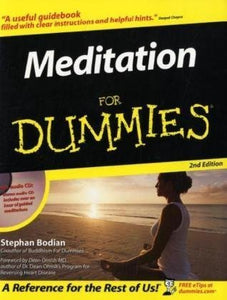Meditation For Dummies (Book And Cd Edition)