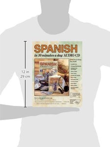 Spanish In 10 Minutes A Day Audio Cd