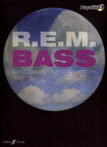R.E.M. Authentic Playalong Bass (Bass/Cd) (Paperback): With Soundalike Backing Cd