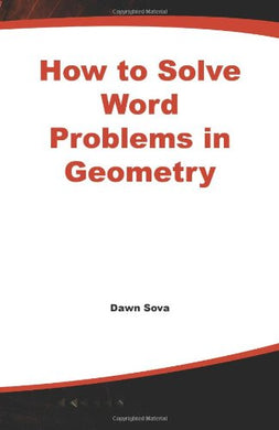 How To Solve Word Problems In Geometry (How To Solve Word Problems (Mcgraw-Hill))