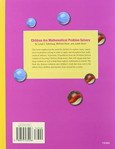 Children Are Mathematical Problem Solvers