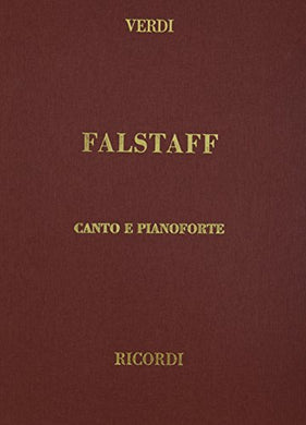 Falstaff, Cloth, It/En: Vocal Score