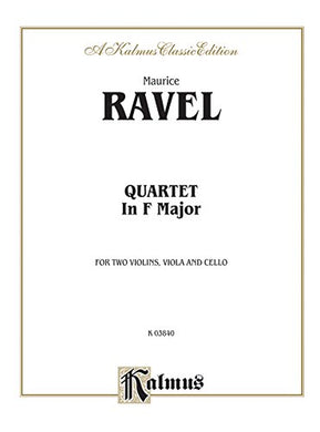 String Quartet In F Major (Kalmus Edition)