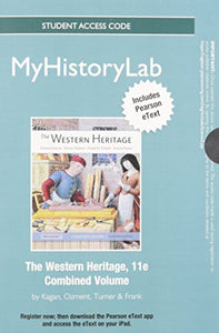 New Mylab History With Pearson Etext - Standalone Access Card - For The Western Heritage (11Th Edition)