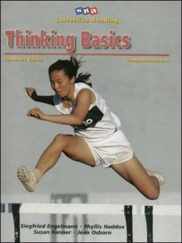 Corrective Reading Comprehension, Level A: Thinking Basics- Teacher'S Guide