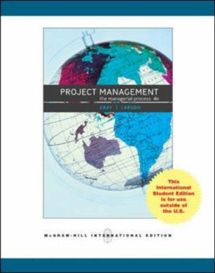 Project Management: And Ms Project Cd: The Managerial Process