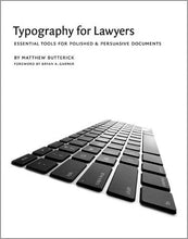 Load image into Gallery viewer, Typography For Lawyers
