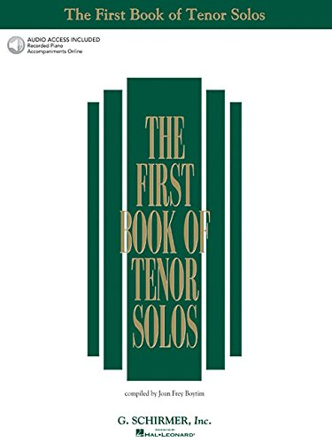 The First Book Of Tenor Solos: Book/Audio Online (First Book Of Solos)