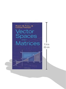 Vector Spaces And Matrices (Dover Books On Mathematics)