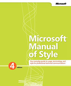 Microsoft Manual Of Style (4Th Edition)