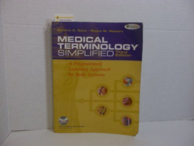 Medical Terminology Simplified 3Rd Ed + Tabers Cyclopedic Medical Dictionary 21St Ed Thumb-Indexed