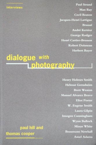 Dialogue With Photography