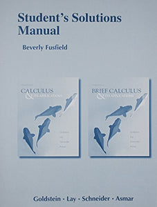 Student Solutions Manual For Calculus & Its Applications And Brief Calculus & Its Applications
