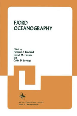 Fjord Oceanography (Nato Conference Series)