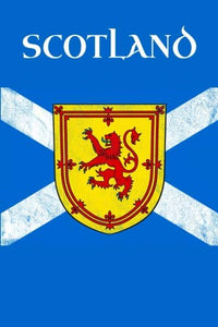 Royal Banner Of Scotland Flag Lion Rampant Journal: Scottish Saltire Travel Book 6 X 9 Scots Gift