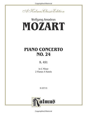 Piano Concerto No. 24 In C Minor, K. 491 (Kalmus Edition)
