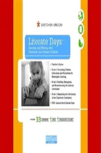 Literate Days: Reading And Writing With Preschool And Primary Children