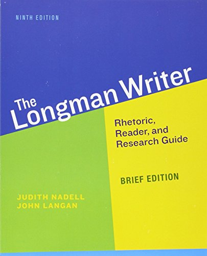 Longman Writer, The, Brief Edition (9Th Edition)
