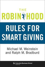 Load image into Gallery viewer, The Robin Hood Rules For Smart Giving (Columbia Business School Publishing)