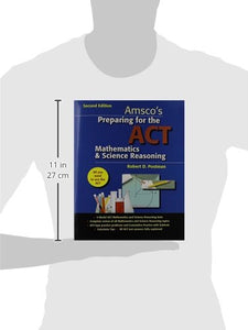 Preparing For The Act Mathematics & Science Reasoning - Student Edition
